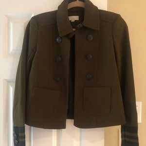 Military jacket from Ann Taylor